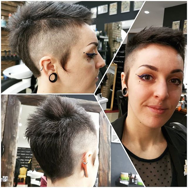 Short Hair Look🥰👍🧑 #blowdry #wash #lovemywork #lorealparis #long  #beautiful#color #treatments #perfecthair #paintings #professional #local #beauty #beautysalon #wien #city #thebest #hairstyle #haircut #cut #ombrehair #barberstudio #hairmake#style #hatisplaceofbeauty🎉#shorthair #extensionspecialist #microrings #cuttings #lookoftheday