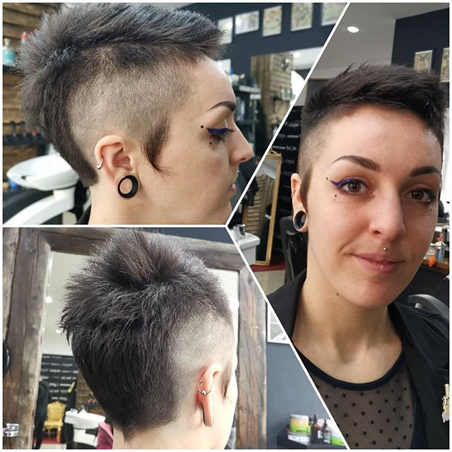 Short Hair Look🥰👍🧑 #blowdry #wash #lovemywork #lorealparis #long  #beautiful#color #treatments #perfecthair #paintings #professional #local #beauty #beautysalon #wien #city #thebest #hairstyle #haircut #cut #ombrehair #olaplex #hairmake #hatisplaceofbeauty🎉#hairextensions #extensionspecialist #microrings #KeratinBooster #keratinextensions