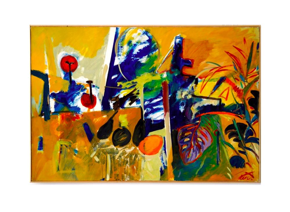 Le bel été, 1988   Jean Percet, Acrylique, 81 x 100 cm