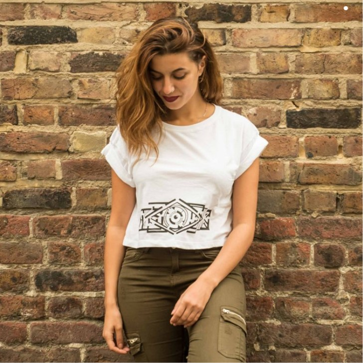 Crop-Top (organic) €29,50  in aid of Legal Centre Lesbos