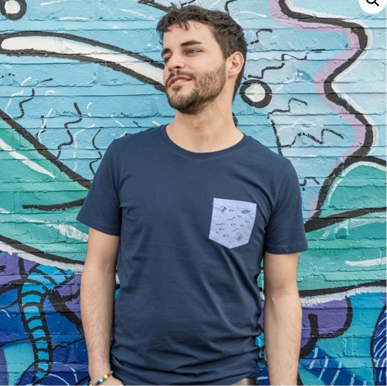 T-Shirt (organic) €29,50  in aid of Legal Centre Lesbos