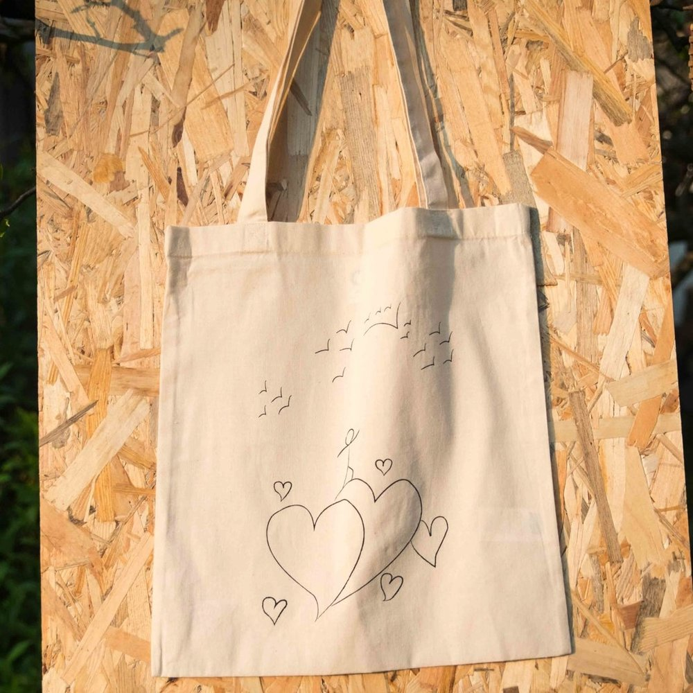 Tote Bag (organic) €14,50  in aid of Legal Centre Lesbos