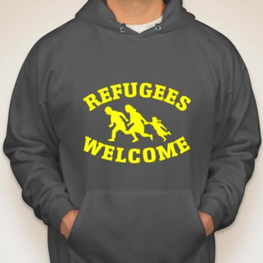 Hoody £26.99  in aid of Calais Action