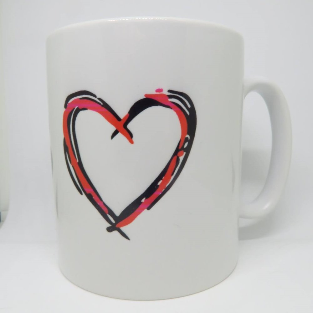 Mug £6.00  in aid of Open Hearts Open Borders