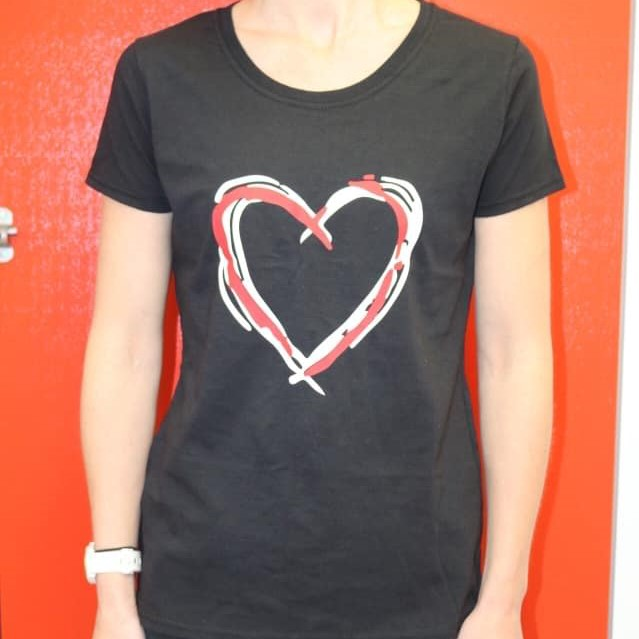 T-Shirt £15  in aid of Open Hearts Open Borders