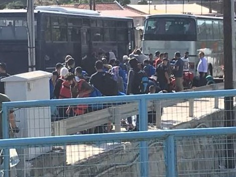 "lesvos - emergency - We sent emergency funds in response to hearing… ""Fights in Moria Camp yesterday mean we are in an emergency situation. We need your help to provide water, food, emergency equipment, shelter and transportation to several thousand people."""