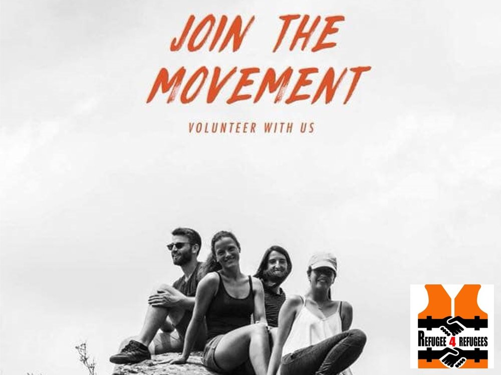 """Refugee 4 refugees - refugee4refugees.org/volunteer/""""Join us as a volunteer on the Greek islands of Lesvos or Samos, or you can help remotely. We are always looking for volunteers with varied backgrounds for different roles within our organisation."""""""