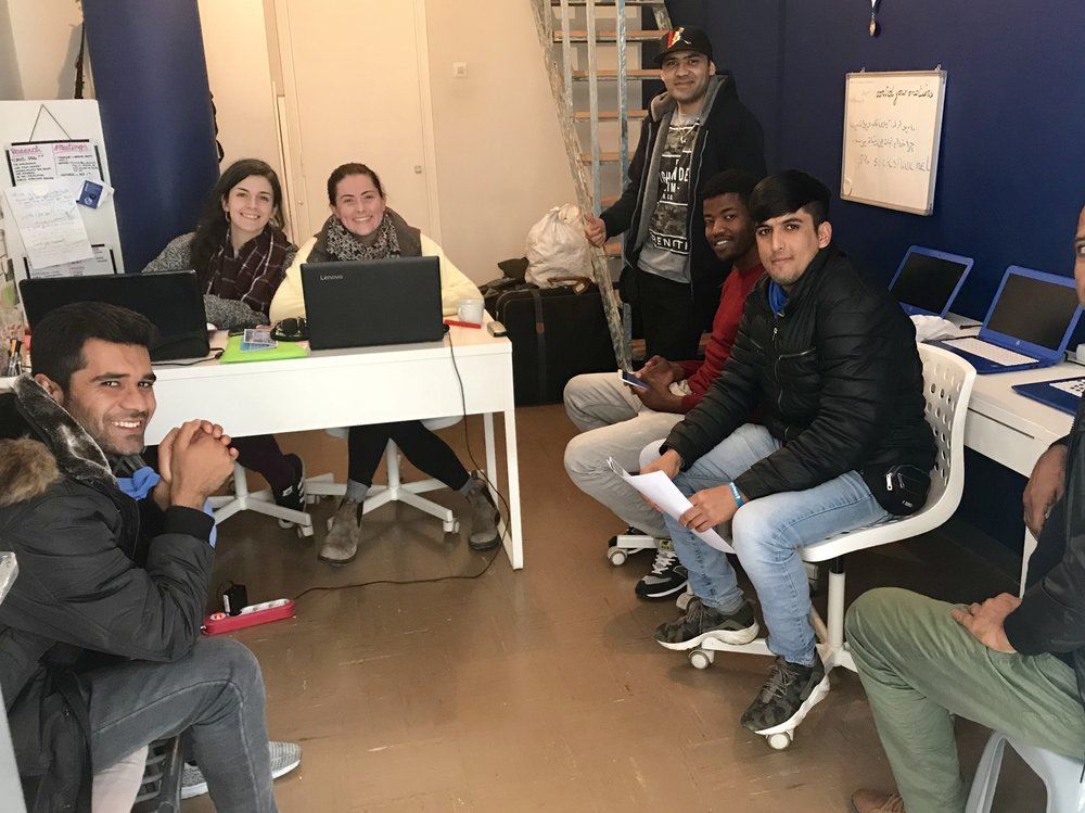 athens, Greece - FORGE for Humanity are providing critical support to the often overlooked and marginalised male refugees in and around Athens. They can do this from their modest offices in the city centre thanks to our supporting their rent, bills and a simple breakfast for six months.