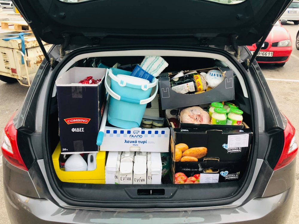 Athens - no cash cards - Partnering with One Human Race, we've helped to provide basic groceries and meet household needs for families and individuals either with no cash cards, or with extra needs not covered by their cash card allowance of just 90€ per month.
