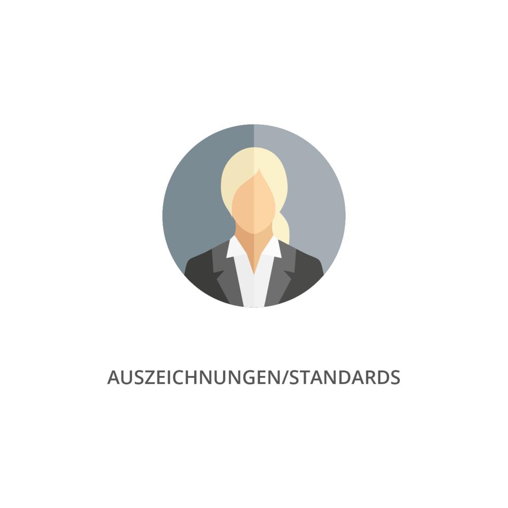 · Nutzbar in Auszeichnungen und Preisen z.B. zur Ermittlung einer Shortlist   · Nutzen für Weiterentwicklungsimpulse für Standards z.B. an den DNK selbst