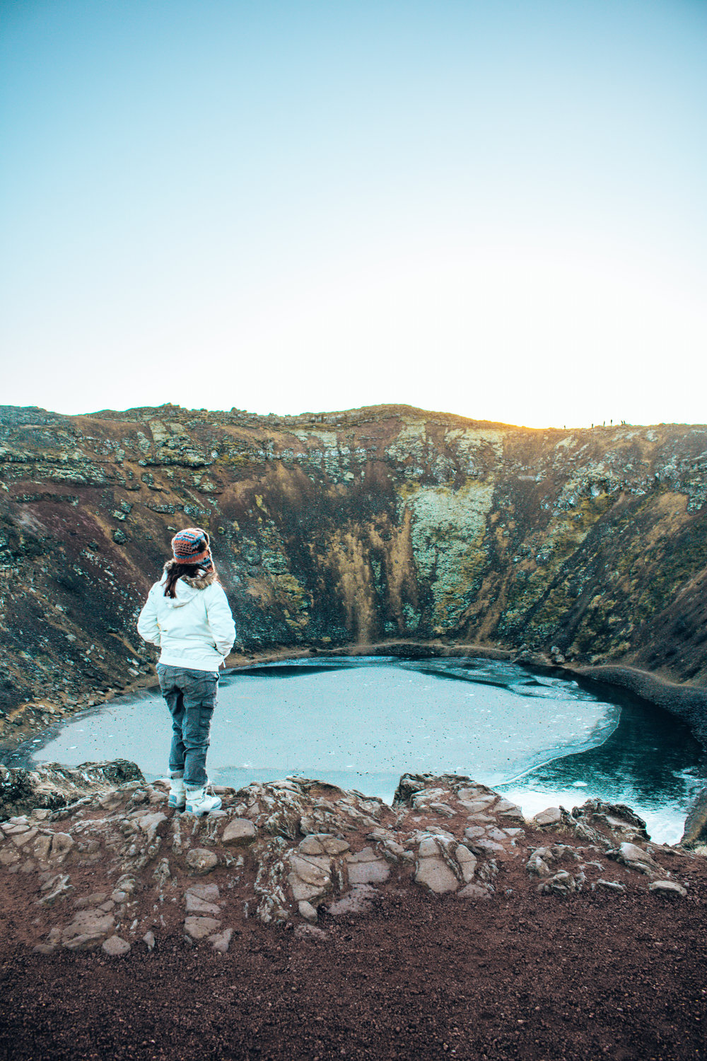 Kerid Crater Iceland View point