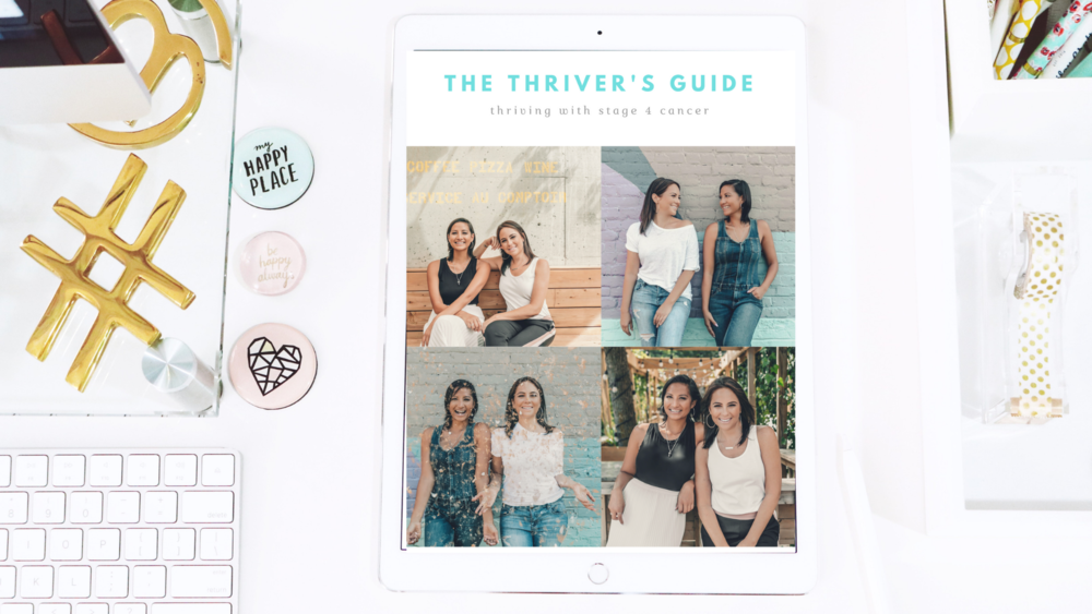 Subscribe - Subscribe to be the first to know the latest details about The Thriver's Guide - How to …By Nalie Agustin & Stephanie Seban - Thriving with Stage 4 Breast Cancer.