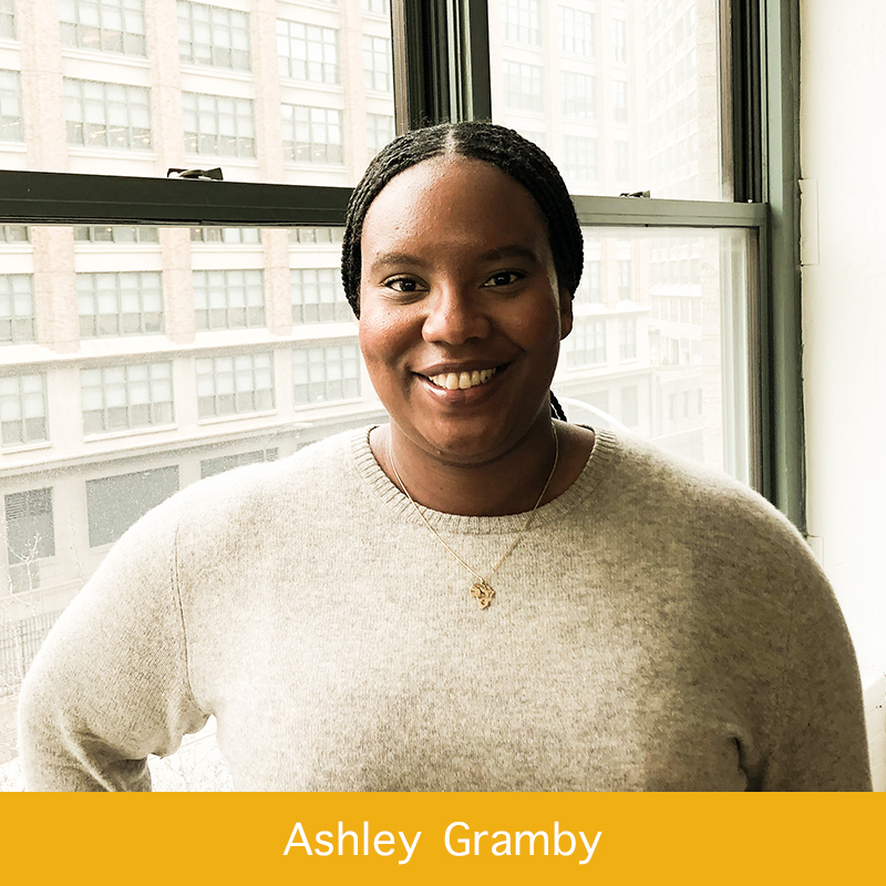 Ashley Gramby | Senior Marketing Manager, Girls Who Code   Ashley is the Senior Marketing Manager at Girls Who Code working out of the New York office. Before joining, Ashley was in Account Management at global advertising agencies working with clients like Harley Davidson, IBM, British Petroleum, The Ad Council, Museum of Art and design, AIG, Accenture, Exxon Mobil, and The White House. Ashley lives in Brooklyn with her orange Tabby Kingston; and loves to chat about traveling, national parks and food trends. She is a lover of art, design, and live music.