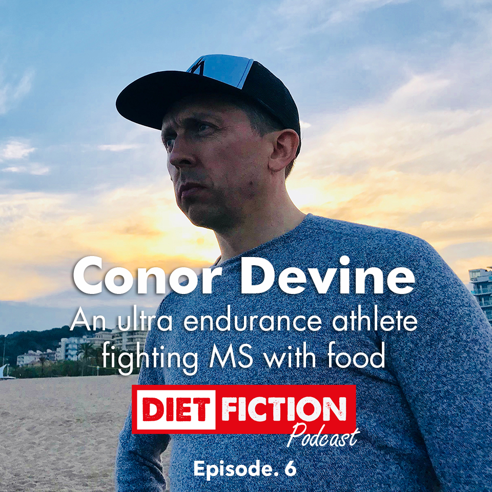 An ultra endurance athlete fighting MS with food