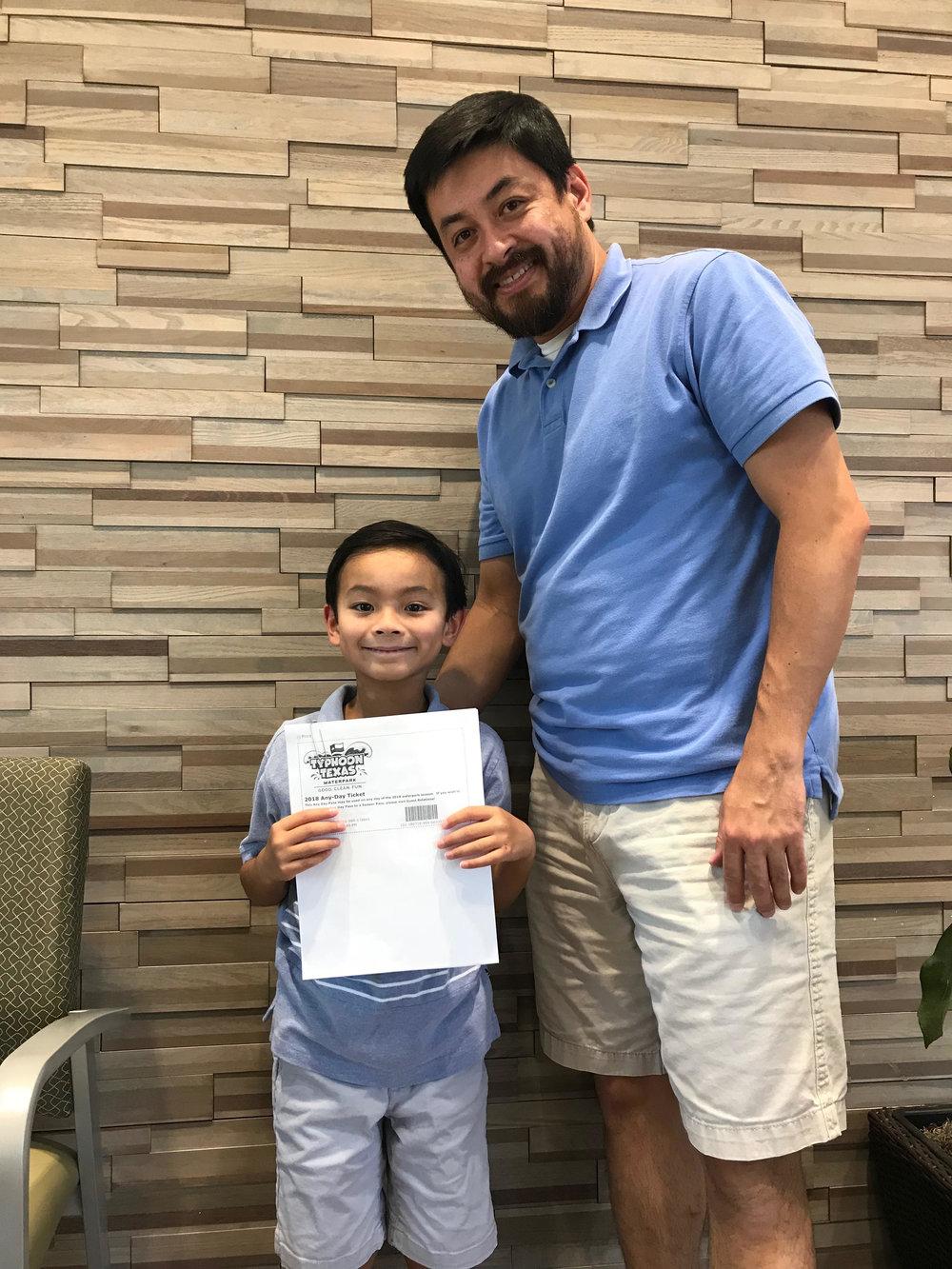 July Winner: 4 Tickets to Typhoon Texas