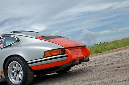 Porsche 911 with Minilites