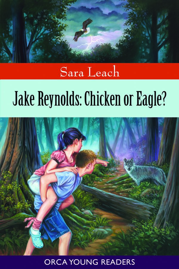 Jake Reynolds: Chicken or Eagle? - Eleven-year-old Jake Reynolds wants to save seal pups from the talons of bald eagles, protect his little sister Sierra and confront the wolf he is sure stalks Hidalgo Island. But his best friend Emily calls him a chicken, comforts Sierra when she falls and doesn't believe the wolf exists. Even as Jake hears howling in the night, part of him hopes Emily is right; he may dream of being a hero, but he is terrified by the thought of running into a wolf. When Jake leads Emily into the woods in search of adventure, he finds more than he bargained for—and discovers things about himself that he never knew existed.Purchase Jake Reynolds: Chicken or Eagle?