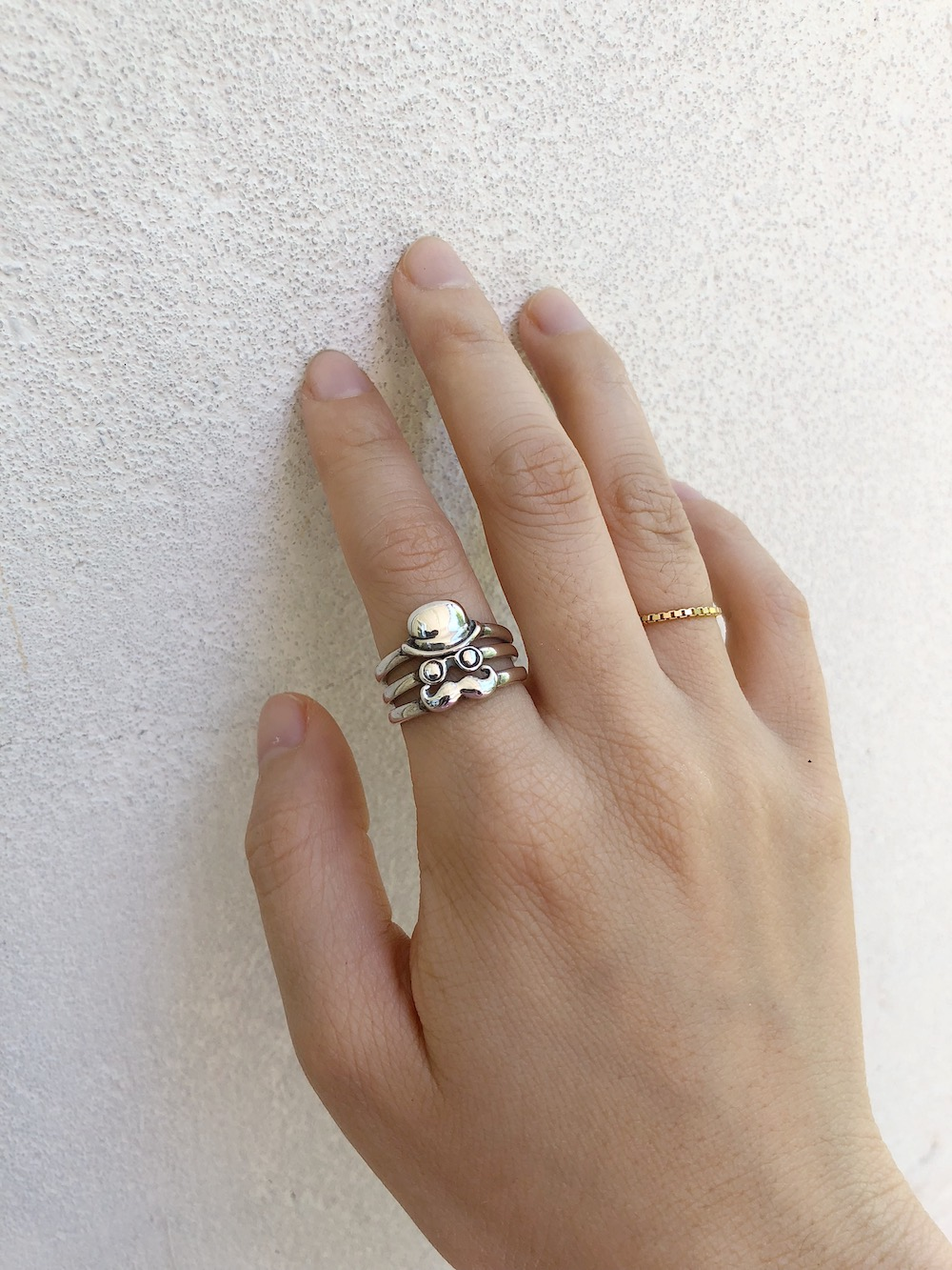 Mr. Monsieur Stack Ring Set