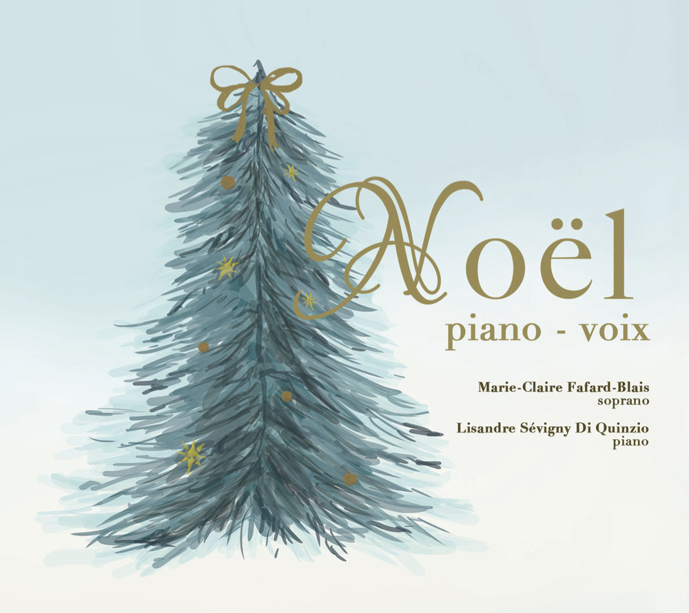 Noël Piano-Voix - It is with a great pleasure that Lisandre Sévigny Di Quinzio and I released our debut album at Café d'art vocal on November 16th, 2018 at 6:00 PM. It is now available!We chose our all-time favorite Christmas pieces featuring many musical styles and languages. We wanted an album that best represents us: classical but never dull!
