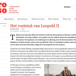 Article published in Rekto:verso (Dutch, November 2016)