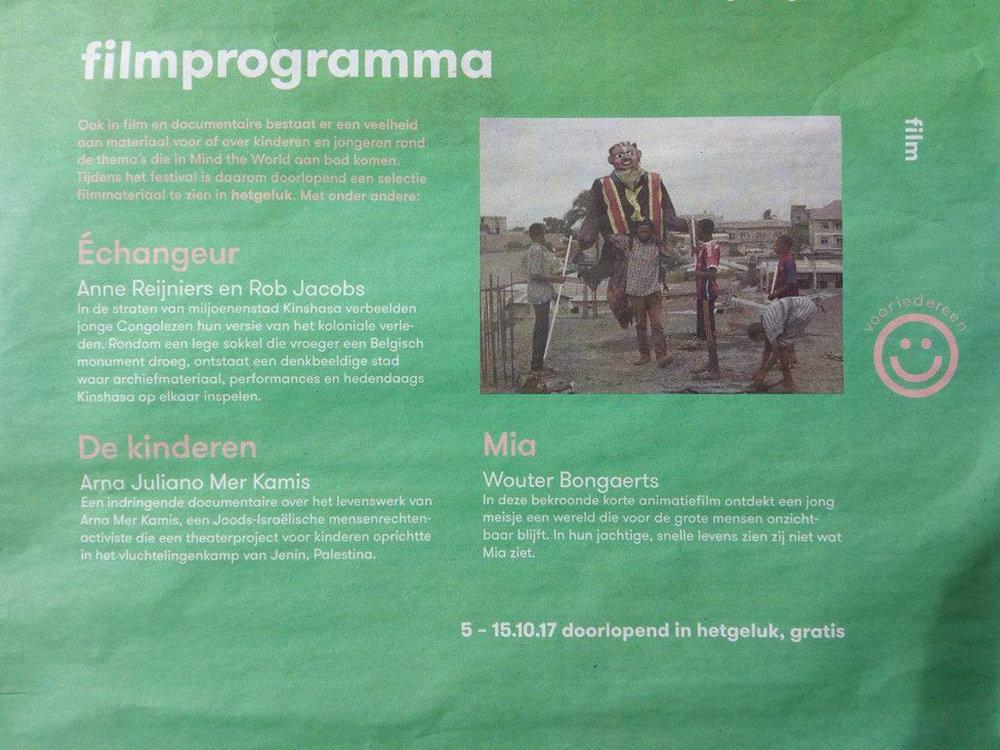 Article published in De Standaard (Dutch, September 2017)