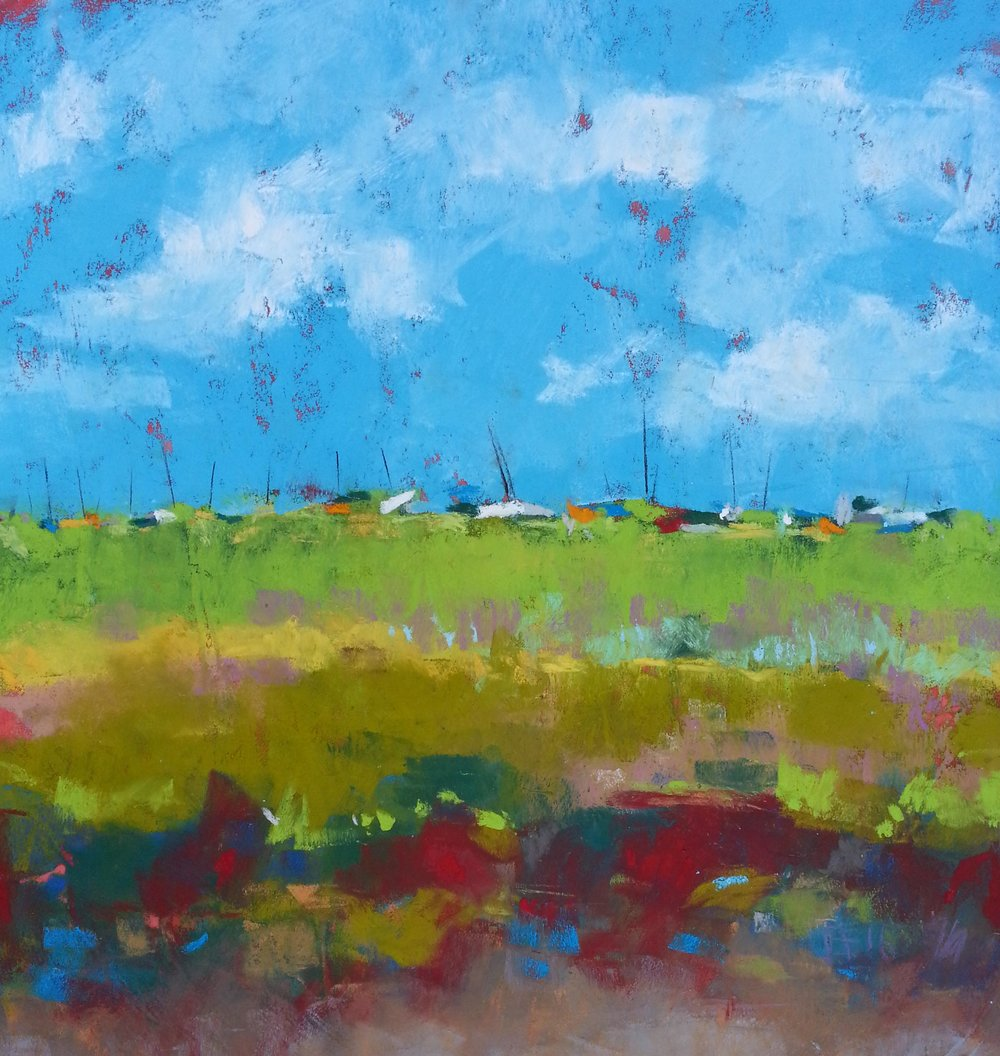 Blakeney March _ Pastel (Sold)