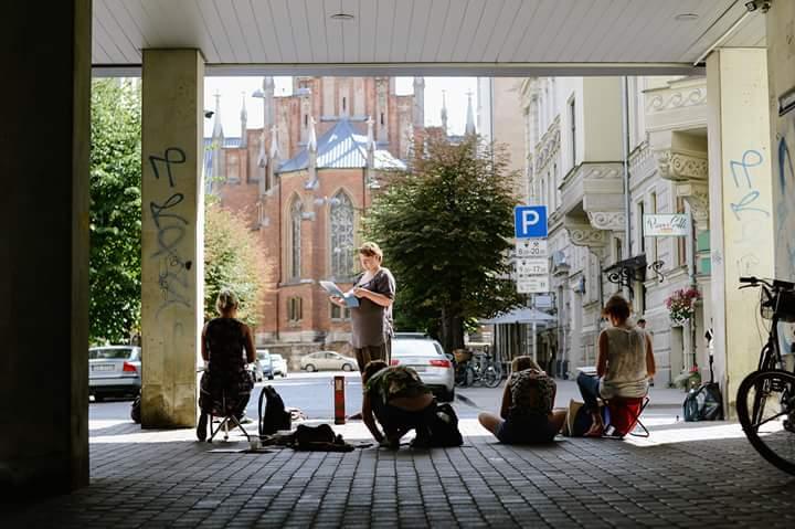 Workshop: Urban Sketchers Riga 2018