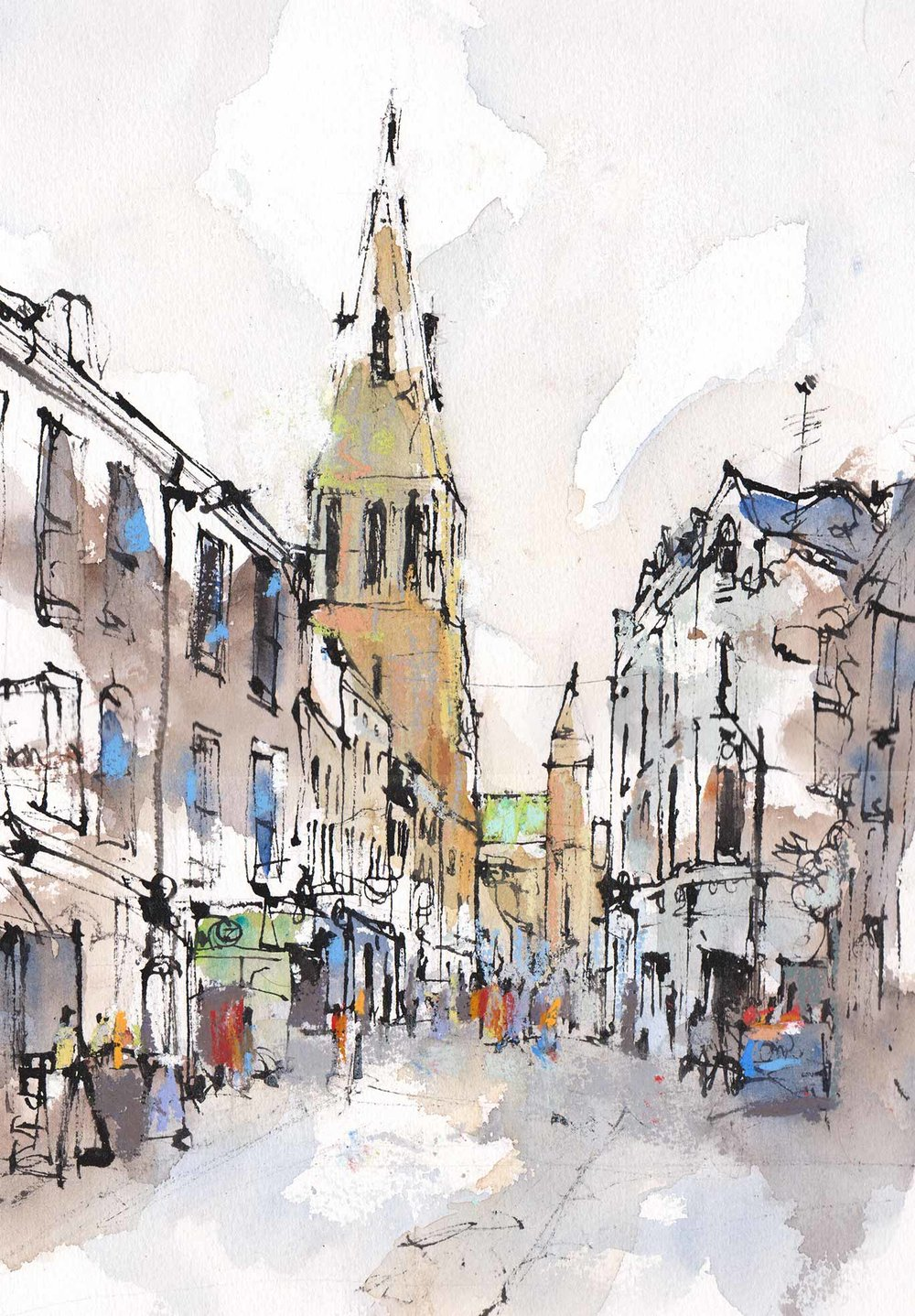 Guidhall Lane. Leicester (sold)