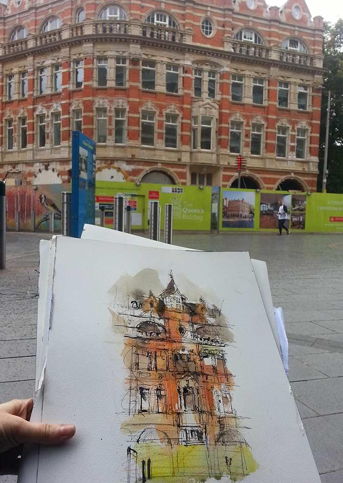 Cultural Quarter, Leicester _ 2017