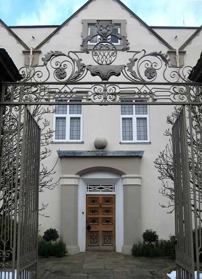 Entrance to Newarke Houses Museum