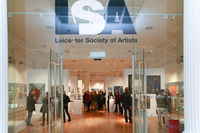 LSA Annual Exhibition 2018 - preview night. Photo: Michael Moralee