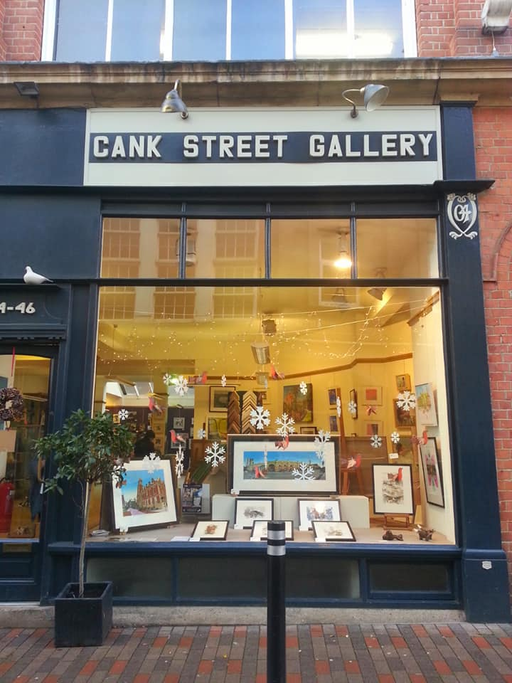 Cank Street Gallery, Leicester - Dec 2018