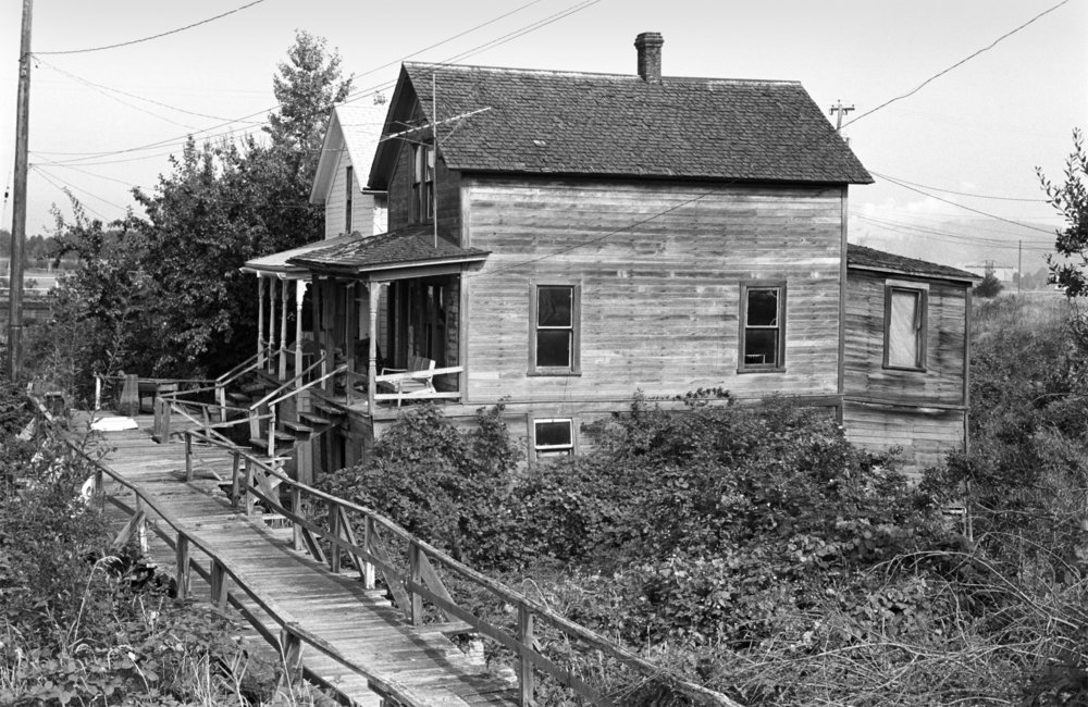 Old House on Columbia River -