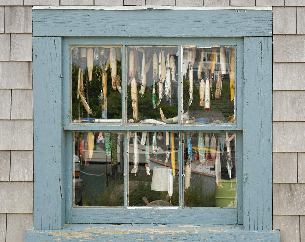 Fishing Lure Window -