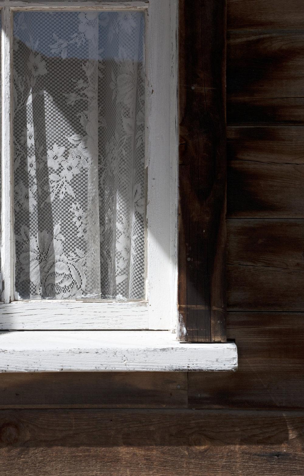 Lace Window Pane -