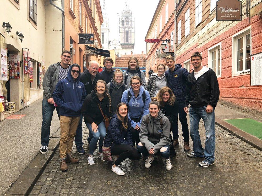 AIA Berkeley Croatia Trip 2018
