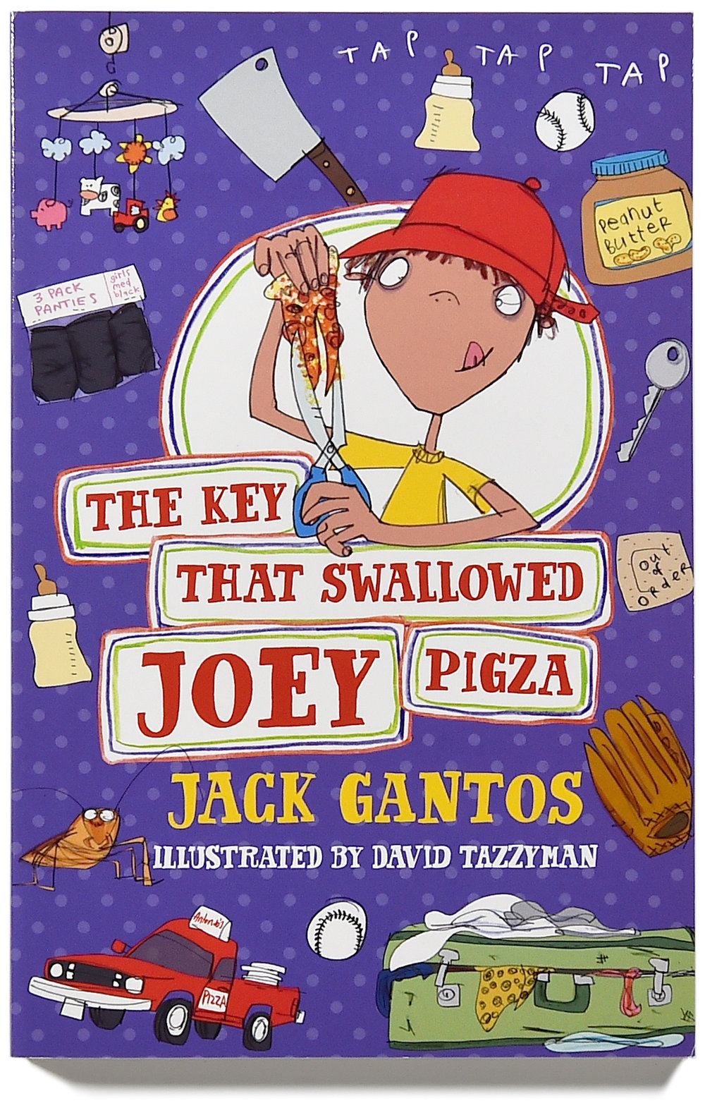 The key that Swallowed Joey Pigza cover.FIN.jpg