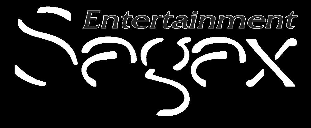 Logo Sagax Entertainment 2017 white.png