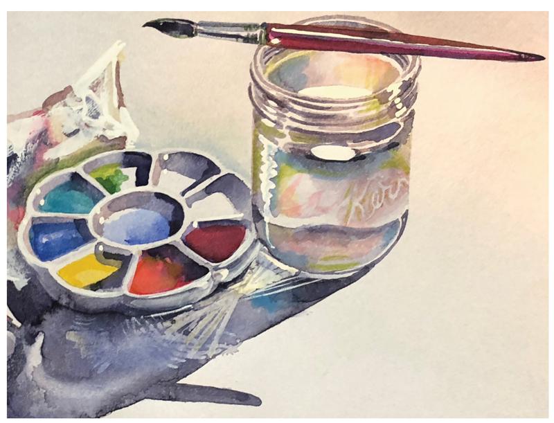 Tina Proctor - watercolors