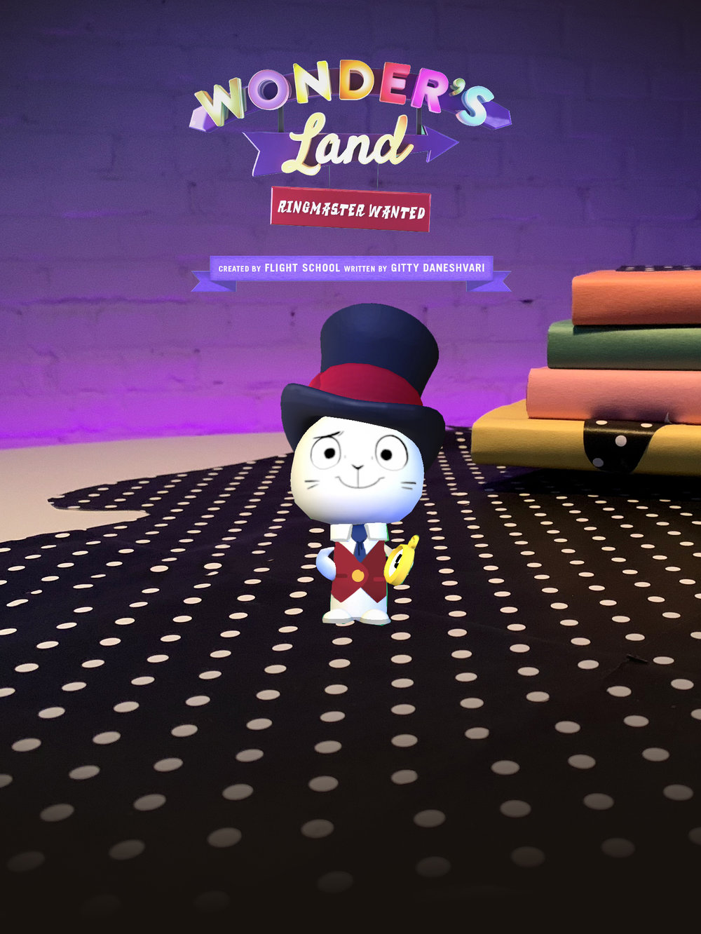 - Flight School and Within partnered to create an augmented reality short. Wonder, The Ringmaster of Wonder's Land, wants you to take over his job. There's just too much magic and he's had enough! But before you can take the job, he needs your help getting everyone ready for the carnival's big opening. Use your voice to help Wonder round everyone up, and teach him a thing or two along the way.