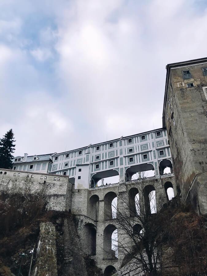 The Reluctant Photographer - Český Krumlov Cloak Bridge from Below.jpg