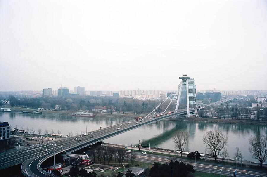 The Reluctant Photographer - Bratislava Slovakia UFO Bridge .jpg