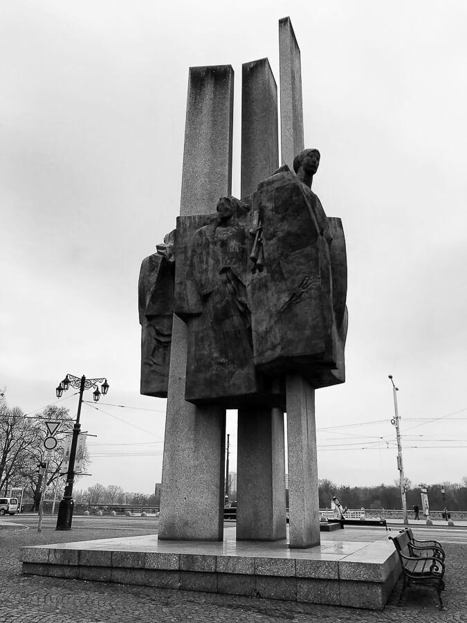 The Reluctant Photographer - Bratislava Slovakia Communist Statue.jpg