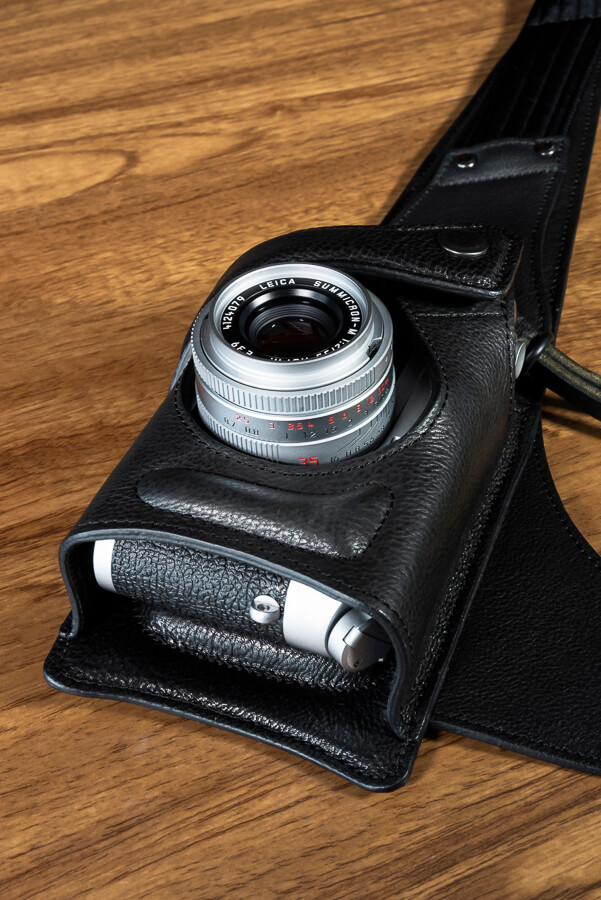 Wotancraft Python Review - Leica Holster with Camera.jpg