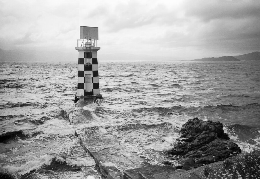 Ilford HP5 Plus - Around the Bays - Point Halswell Lighthouse.jpg