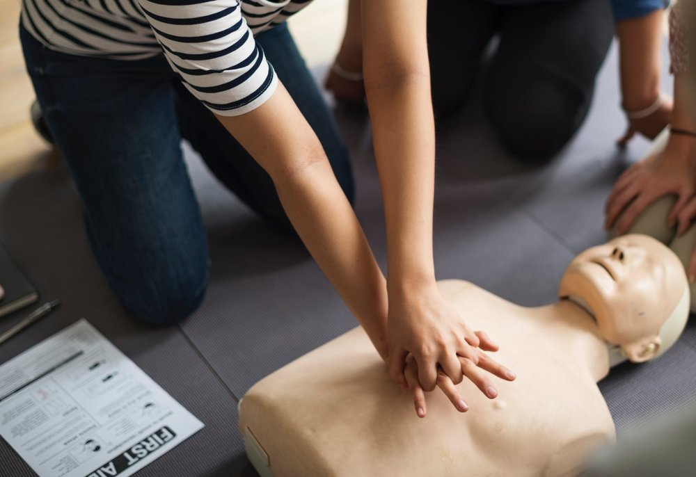 CPR/First Aid - For 1 hour refresher class click here.