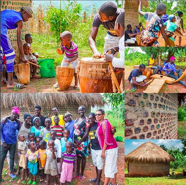 Photos from my visit to UKC Uganda, Bombot Town, Uganda