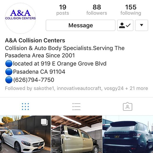 We would like to introduce our sister location @aa_collision_centers , new to ig but been in business since 2001. Please follow and message for all your auto body and collision repair needs. #bodyshop #collision #motor_head_ #carinstagram #realrunners #carswithoutlimits #superstreet #egarage #blacklist #speedhunters #heavyhittersmagazine #elevatedautoconcepts #auto #cars #caroftheday #instaauto #carpor