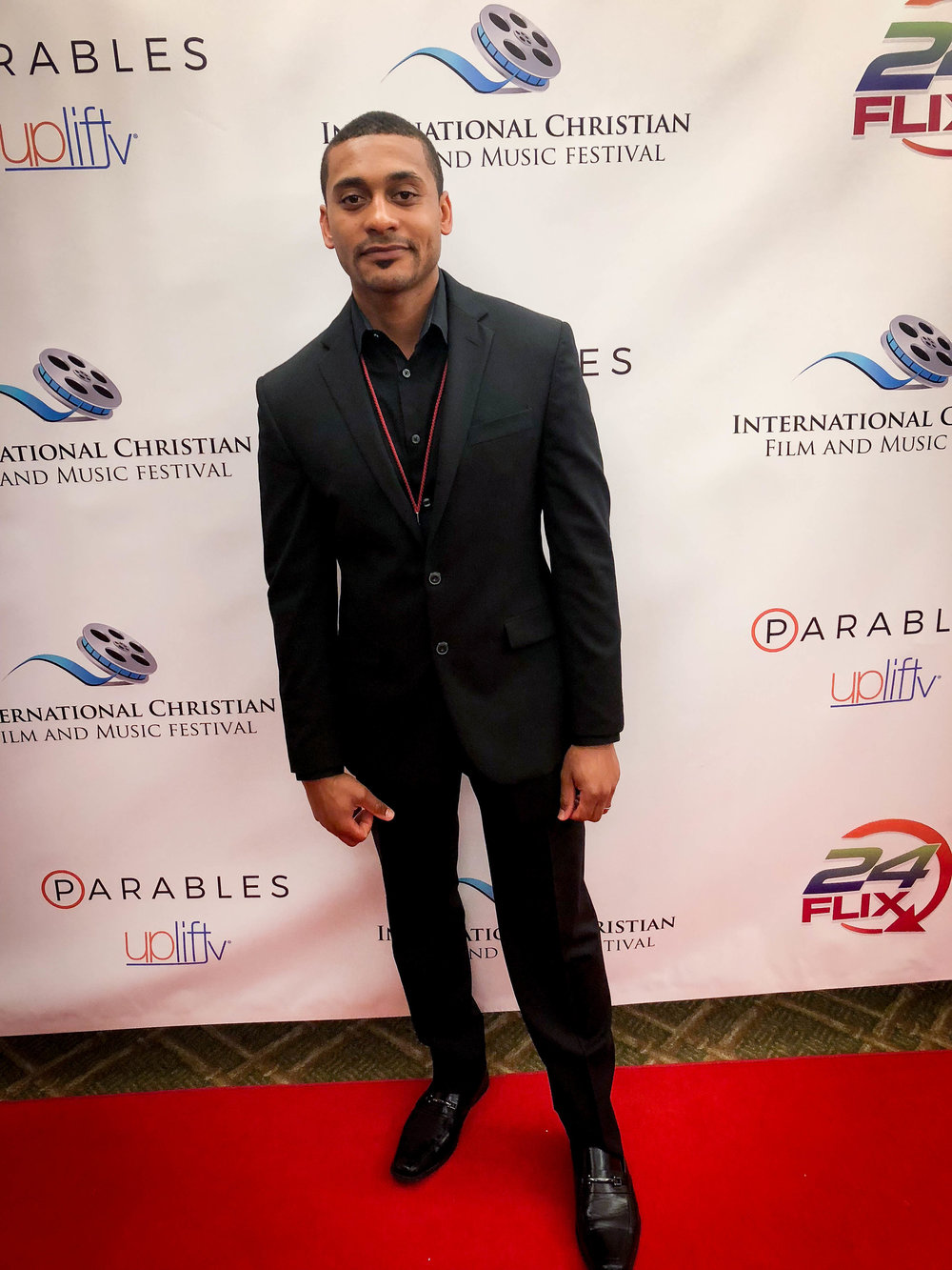 Shine racks up 4 nominations at the International Christian Film Festival in Orlando, Florida. - In the picture, Christopher LaMark (Writer/Director/DP)