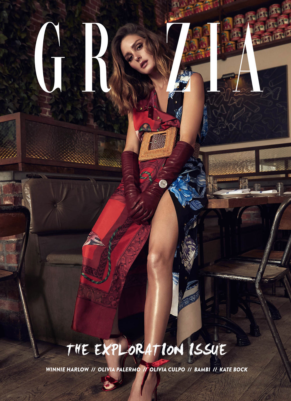 GRAZIA | OCTOBER 2018 | FALL 18 RED JACKET